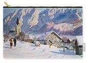 Mitterndorf In Austria Carry-all Pouch by Gustave Jahn