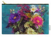 Mixed Bouquet Carry-all Pouch