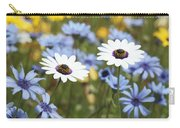Mixed Daisies Carry-all Pouch