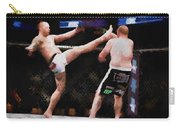 Mixed Martial Arts - A Kick To The Head Carry-all Pouch