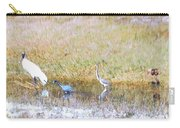 Mixed Shore Birds Carry-all Pouch