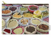 Mixed Spices In Market Of Cairo Egypt Carry-all Pouch