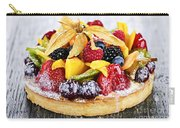 Mixed Tropical Fruit Tart Carry-all Pouch