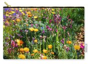Mixed Wildflowers Carry-all Pouch