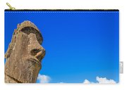 Moai And Blue Sky Carry-all Pouch