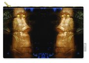 Moai Gold Carry-all Pouch
