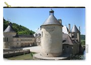 Moated Castle - Bussy Rabutin - Burgundy Carry-all Pouch
