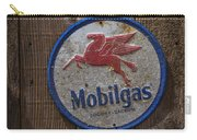 Mobil Gas Sign Carry-all Pouch