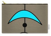 Mobile 4 In Turquoise Carry-all Pouch