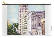 Mobile Alabama - North On St. Joseph Street - Merchants National Bank - 1937 Carry-all Pouch