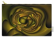 Mobius Field Generator Fractal Olive Carry-all Pouch