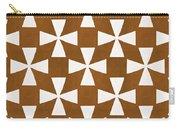 Mocha Twirl Carry-all Pouch by Linda Woods