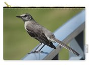 Mockingbird Perched Carry-all Pouch