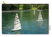 Model Boats On Conservatory Water Central Park Carry-all Pouch