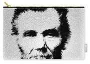Modern Abe - Abraham Lincoln Art By Sharon Cummings Carry-all Pouch