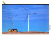 Modern Agriculture And Wind Turbines Carry-all Pouch