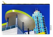 Modern Architecture With Blue Sky Carry-all Pouch