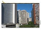 Modern Buildings In Central Rio De Carry-all Pouch