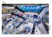 Modern Shopping Mall Interior Carry-all Pouch