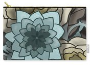 Modern Water Lily Carry-all Pouch