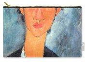 Modigliani's Chaim Soutine Up Close Carry-all Pouch