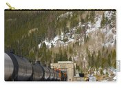 Moffat Tunnel East Portal At The Continental Divide In Colorado Carry-all Pouch