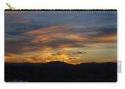 Mojave Desert Sunrise Carry-all Pouch