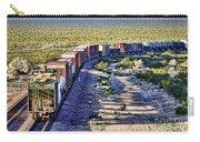 Mojave Desert Train By Diana Sainz Carry-all Pouch