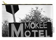 Mokee Motel Sign Circa 1950 Carry-all Pouch