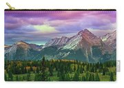 Molas Pass Sunset Panorama Carry-all Pouch