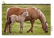 Mom And Foal 2 Carry-all Pouch