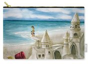 Mommy And Me Sandcastles Carry-all Pouch