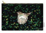Mommy Hummingbird In The Nest Carry-all Pouch