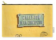 Mompox Street Signs Carry-all Pouch
