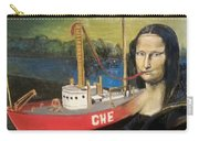 Mona Lisa Unfinished Carry-all Pouch