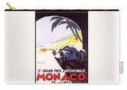 Monaco Grand Prix 1933 Carry-all Pouch