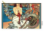 Monaco Monte Carlo Carry-all Pouch by Alphonse Maria Mucha