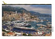 Monaco Panorama Carry-all Pouch by David Smith