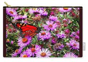 Monarch Among The Asters Carry-all Pouch