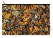 Monarch Butterflies Wintering Carry-all Pouch