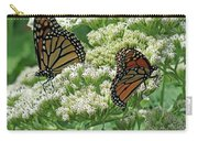 Monarch Butterfly 57 Carry-all Pouch