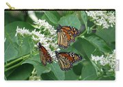 Monarch Butterfly 64 Carry-all Pouch