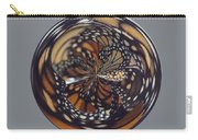 Monarch Butterfly Abstract Carry-all Pouch