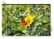 Monarch Butterfly And Guest Carry-all Pouch