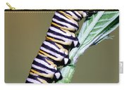 Monarch Butterfly Caterpillar Carry-all Pouch