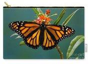 Monarch Butterfly Danaus Plexippus Carry-all Pouch