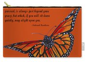 Monarch Butterfly Pismo Beach Carry-all Pouch