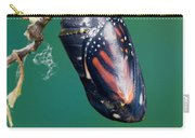 Monarch Butterfly Ready To Emerge Carry-all Pouch