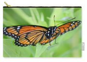 Monarch Butterfly Rocking Chair Carry-all Pouch