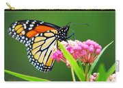 Monarch Butterfly Simple Pleasure Carry-all Pouch